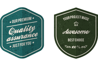 QA badges