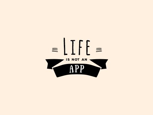 Life Is Not An App logo
