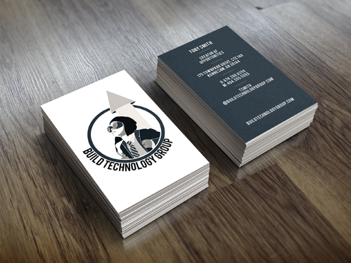 New BTG business cards